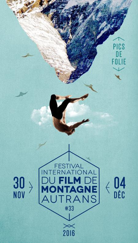 Affiche du Festival International du Film de Montagne d'Autrans