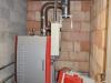 Chaudière à bois déchiqueté pour le chauffage et l'eau chaude