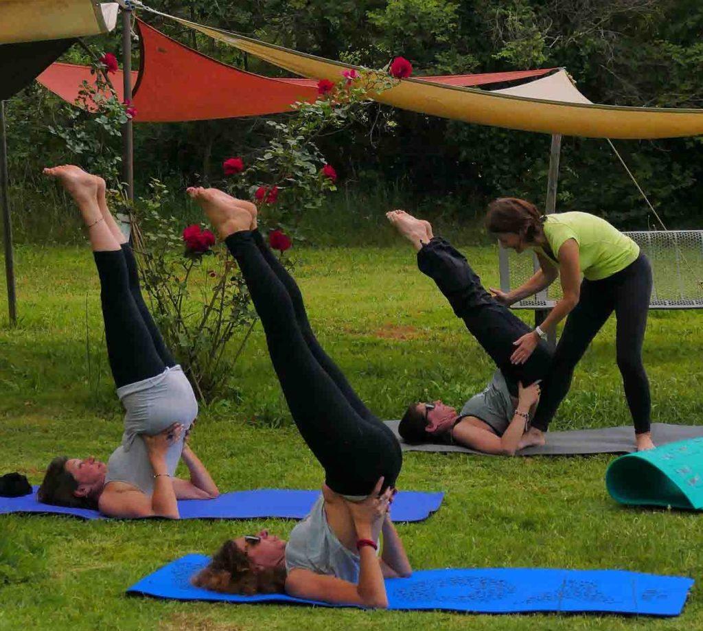 Yoga avec Brigitte Duby