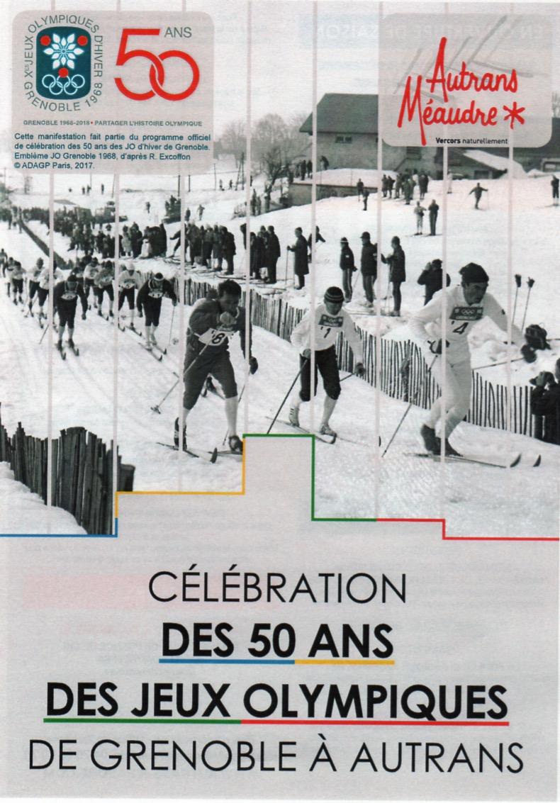 Affiche 50 ans JO Autrans