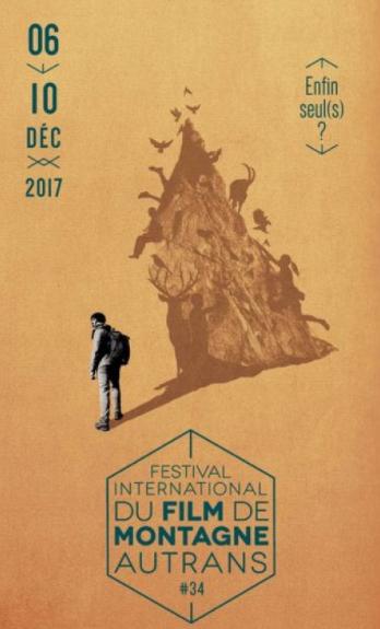 Affiche du 34ème Festival International du Film de Montagne d'Autrans