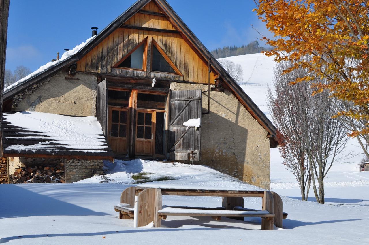 Gite La Couve sous la neige - Nov 2017