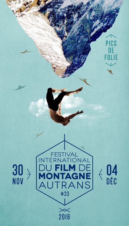 Affiche du Festival International du Film de Montagne d'Autrans